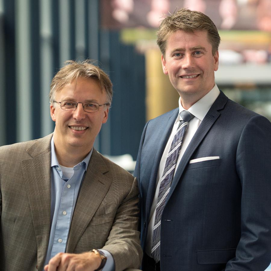 Gert Haanstra en Jaap Wieringa - Haanstra Management
